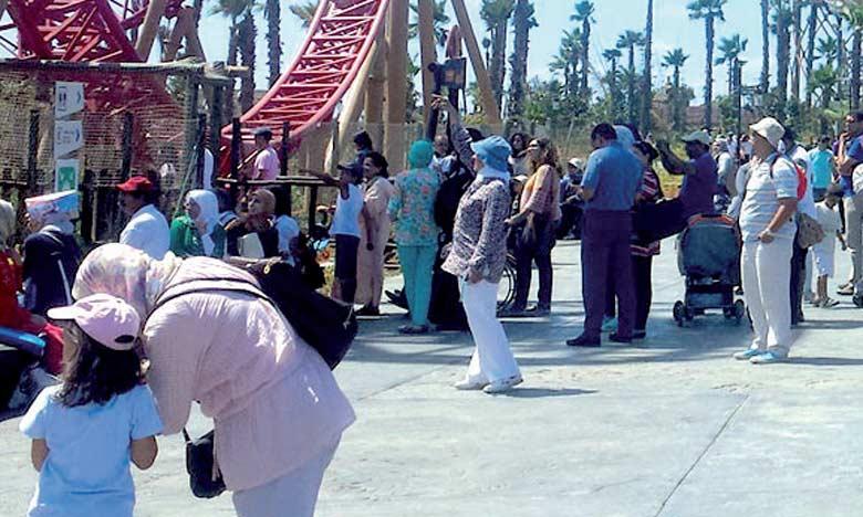 Le parc accueille 4.000 à 5.000 visiteurs, voire 10.000 pendant les week-ends et les vacances.