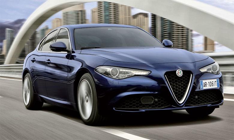 À la fois élégant et sportif, le design de la berline italienne est signé par le Centro Stile Alfa Romeo.