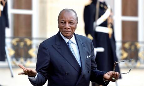 Le Chef de l'état guinéen élu Président  de l'Union africaine