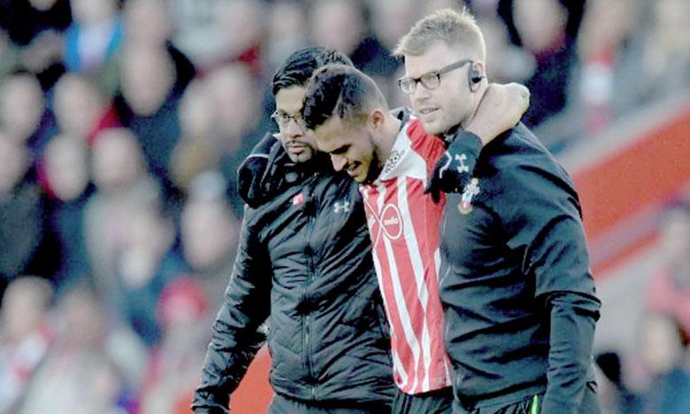 Sofiane Boufal incertain pour la finale face  à Manchester United