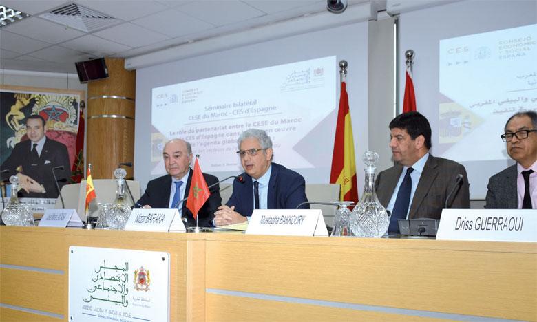 Le Conseil économique social et environnemental (CESE) et le Conseil économique et social (CES) d'Espagne veulent mettre en commun leurs efforts.