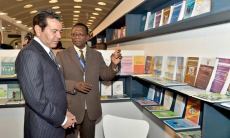 Son Altesse Royale le Prince Moulay Rachid inaugure le 23e Salon international de l'édition et du livre de Casablanca