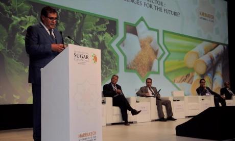 La filière sucrière a enregistré des résultats tangibles qui ont permis au Maroc de couvrir ses besoins en sucre de 50% en 2016, a relevé Aziz Akhannouch, ministre de l'Agriculture et de la Pêche maritime. Ph : DR