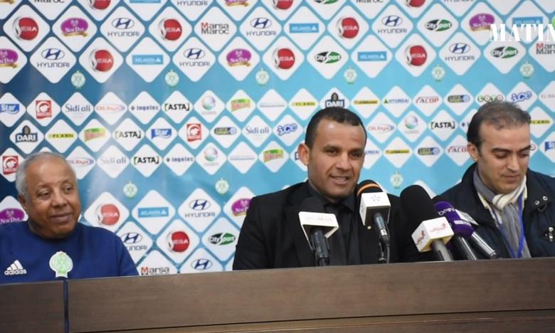 Hicham El Idrissi : «Les joueurs vivent des situations  familiales difficiles»