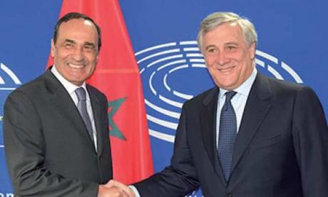 Le président du Parlement européen souligne le rôle capital  du Royaume dans la stabilité de la Méditerranée