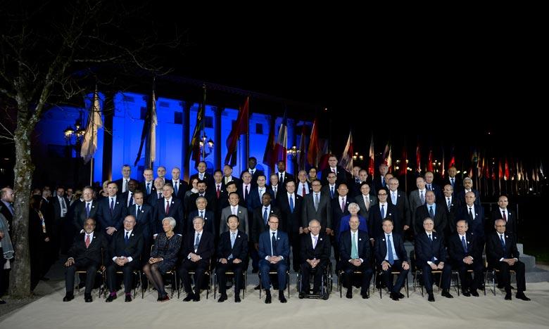 «Cette initiative du G20 vient à point nommé pour sa philosophie de suggérer et non imposer, ainsi que pour l'idée de travailler ensemble», c'est ce qu'a estimé Mohamed Boussaid, ministre de l'Economie et des Finances. Ph : AFP
