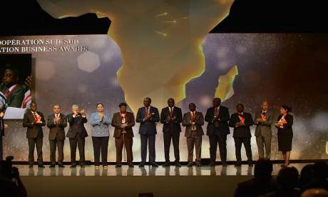 Les trophées récompensent les entreprises leaders et pionnières dans l'intégration économique en Afrique. Ph. Saouri