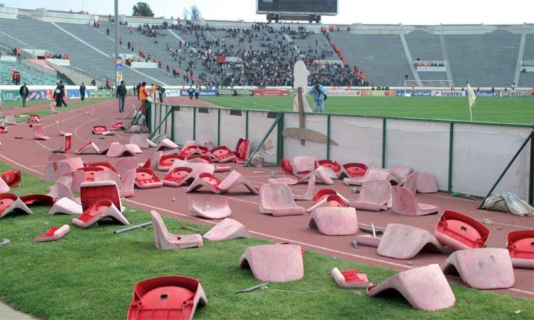 Le football national est gangréné par la violence.