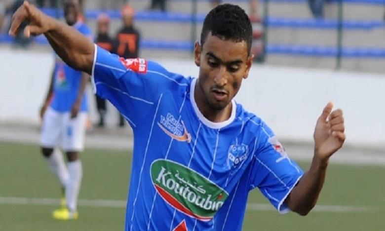 Abdessamad Lembarki, joueur de Chabab Rif Al Hoceïma.