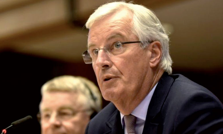 Michel Barnier: «Quand un pays quitte l'Union européenne, il n'y a pas de punition, pas de prix à payer, mais nous devons solder les comptes, ni plus ni moins».