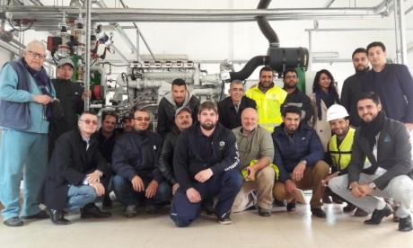 C'est parti pour deux moteurs à biogaz de l'OCP !