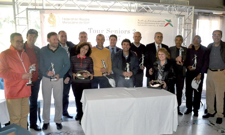 Les prix ont été décernés aux lauréats lors d'une cérémonie organisée au RCC Tanger.