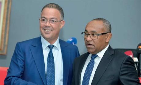 «La CAF soutiendra la candidature du Maroc  pour l'organisation de la Coupe du monde 2026»