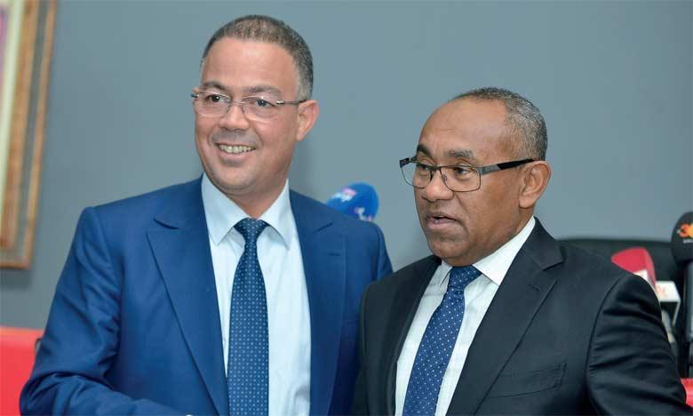 Le Maroc est la première destination du président de la CAF, au lendemain de sa prise de fonction  officielle.