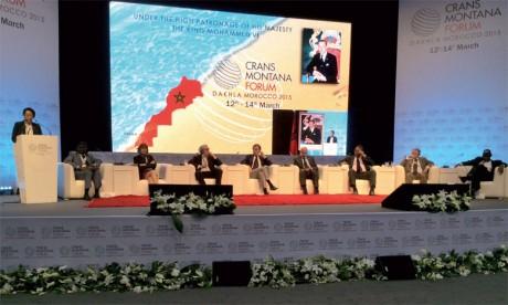L'Afrique du 21e siècle et le potentiel de la coopération  Sud-Sud au cœur des travaux du Forum Crans Montana  qui commence demain à Dakhla