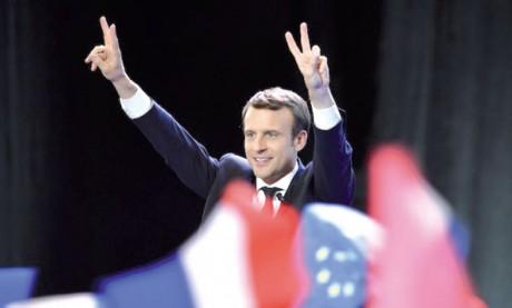 La presse internationale salue la victoire  au premier tour d'Emmanuel Macron