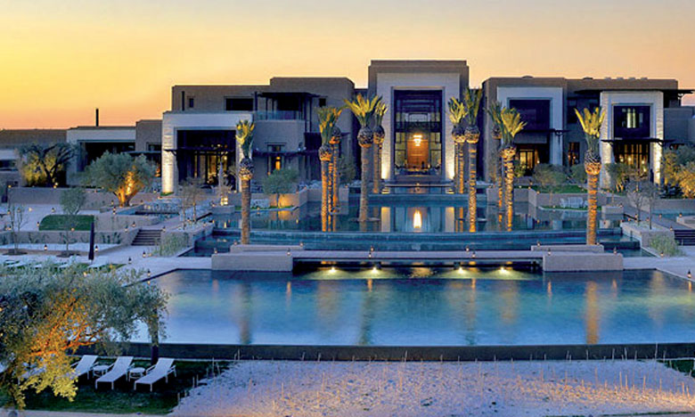 Fairmont Royal Palm Marrakech est le premier hôtel de l'enseigne de luxe en Afrique.