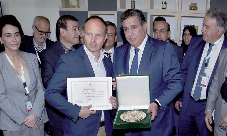 Les trois trophées de la catégorie «fruité vert intense» ont été décernés respectivement à Olivinvest de Meknès, à la société d'exploitation de l'Olive d'El Kelaa des Sraghna et à la société Oleastre (Meknès).