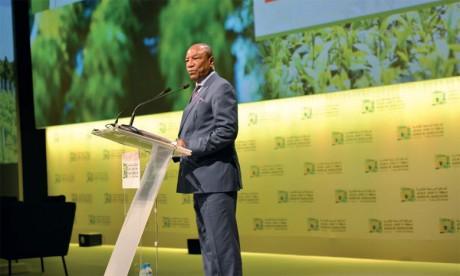 «La bonne gestion de nos ressources hydriques, aussi bien à des fins agricoles que énergétiques, halieutiques et piscicoles, sont autant de sources de croissance de notre économie  et de lutte contre la pauvreté», a estimé le président Condé.