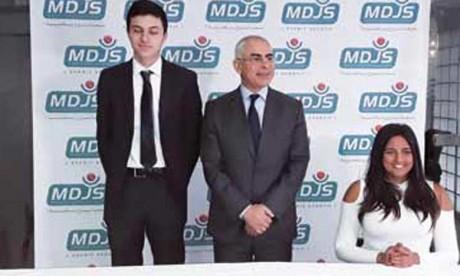 La MDJS signe une convention de parrainage avec deux champions en herbe
