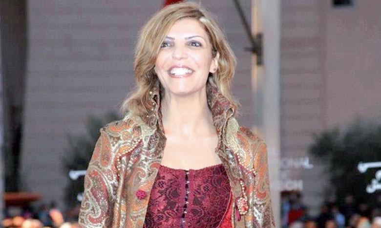 L'actrice Latefa Ahrare.