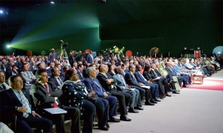 Une vue de l'assistance aux Assises de l'agriculture à Meknès.    Ph. Saouri