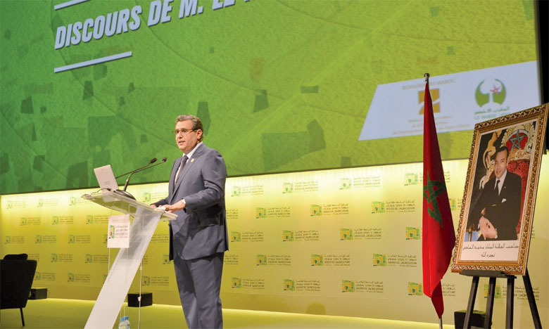 À l'ouverture des Assises de l'agriculture, lundi, le ministre a annoncé une récolte céréalière estimée à 102 millions de quintaux.                                                        Ph. Saouri