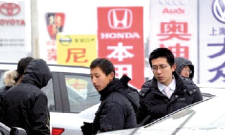 Selon PwC, les ménages chinois continueraient de s'équiper de véhicules au cours des prochaines années malgré  le ralentissement de la croissance du pays.