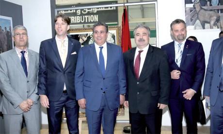 M.Nagy a salué les efforts consentis par le Maroc pour le développement de l'Agriculture, soulignant l'effet remarquable  de la mise en place du Plan Maroc vert.