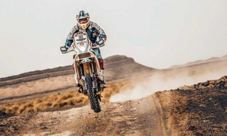 Le Marocain Harite Gabari s'impose dans la catégorie Moto