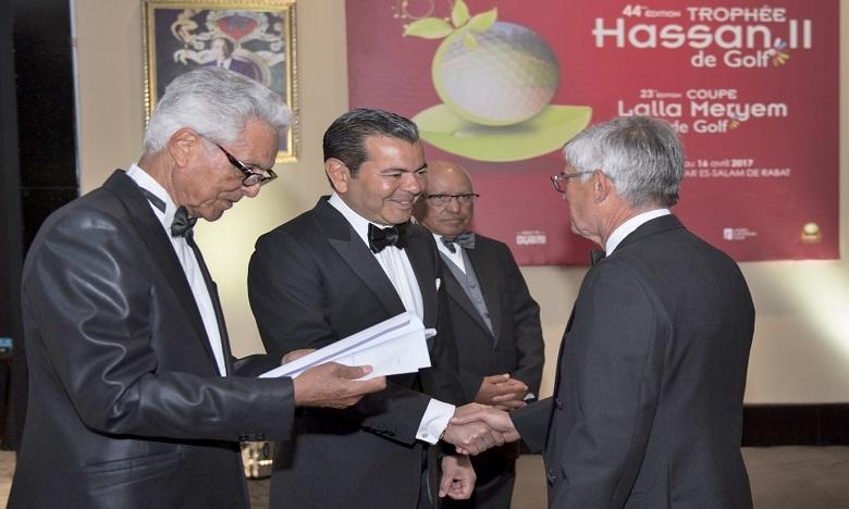 S.A.R. le Prince Moulay Rachid préside à Rabat  un dîner offert par S.M. le Roi en l'honneur des invités