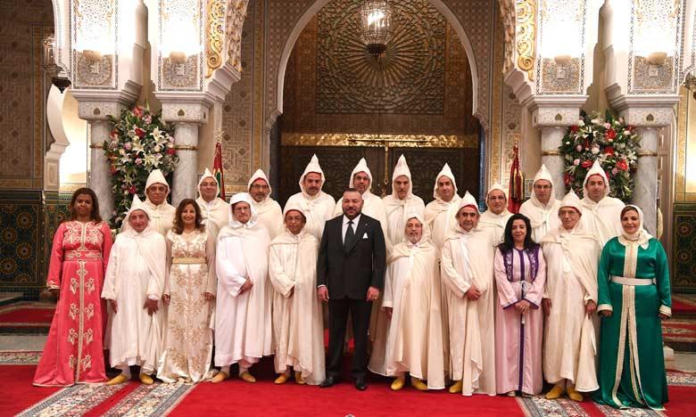 Sa Majesté le Roi Mohammed VI reçoit et nomme les membres du Conseil supérieur du pouvoir judiciaire