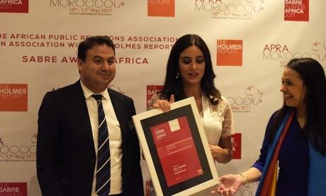 "BMCE Bank of Africa reçoit le Certificat d'Excellence du ""Gold Sabre Award"""