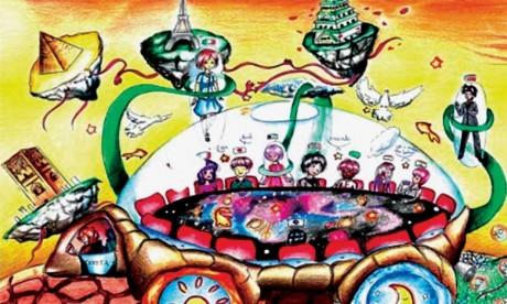 2.000 dessins d'enfants pour imaginer la voiture du futur