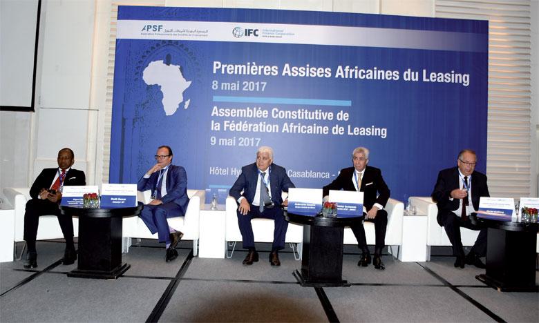 Les premières Assises africaines du leasing ont démarré hier à Casablanca et s'achèvent ce mardi.                                              Ph. Seddik