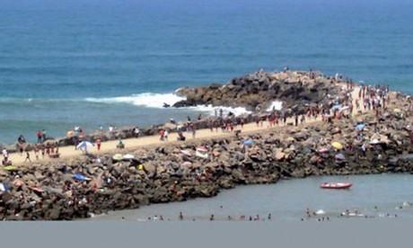La plage de Rabat prend part à la campagne internationale «Océans propres»
