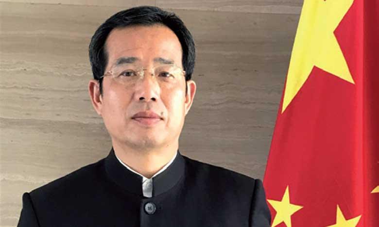 Sun Shuzhong, ambassadeur de Chine au Maroc.