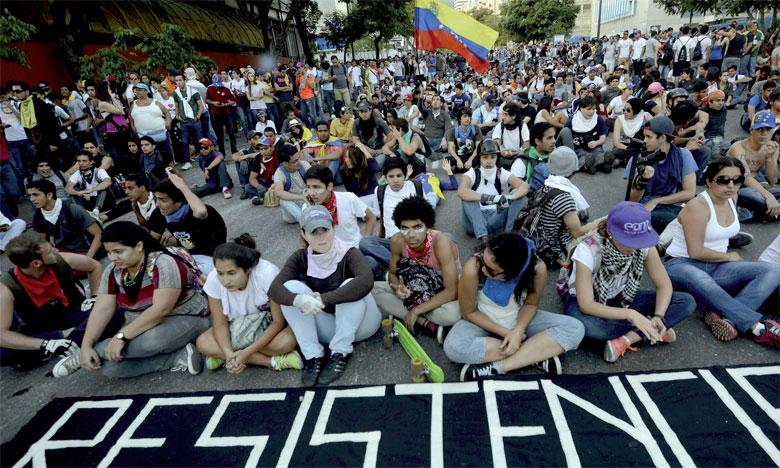 À Caracas, plus de 160.000 manifestants, selon l'opposition, ont tenté d'atteindre le ministère de l'Intérieur avant d'être dispersés par les forces de l'ordre. Ph. DR