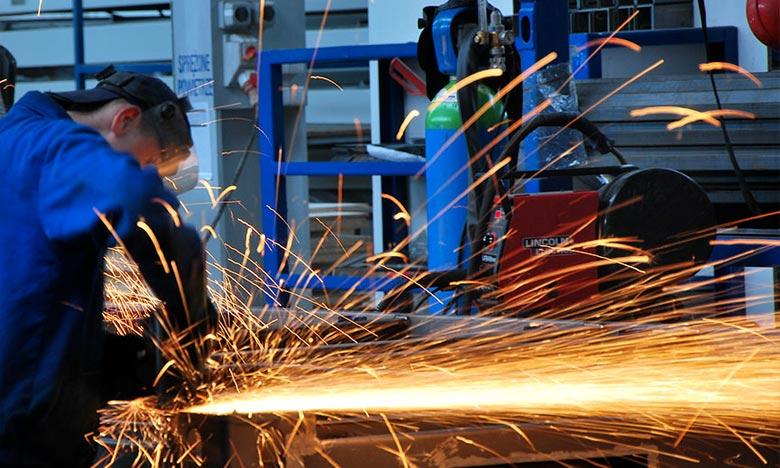 Hausse de 2,3% de l'indice de production au 1er trimestre