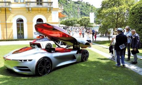 Renault Trezor élu plus beau concept-car