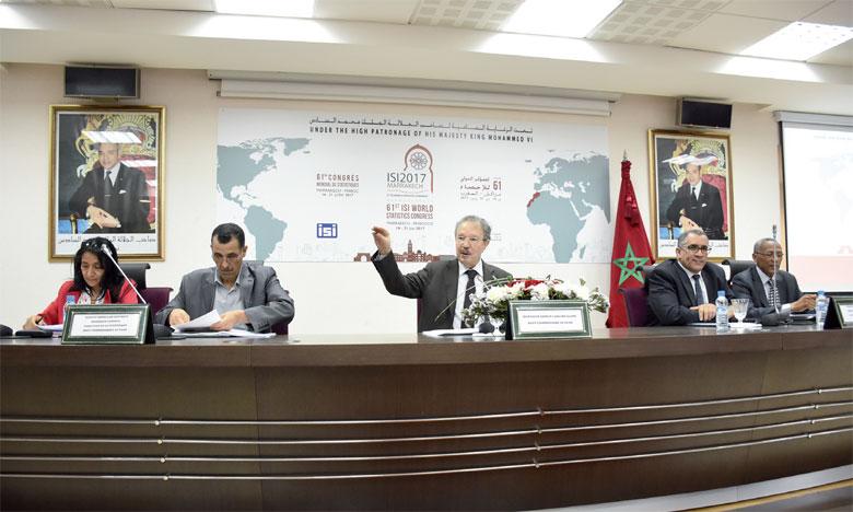 Marrakech abrite la 61e session du Congrès  mondial de la statistique