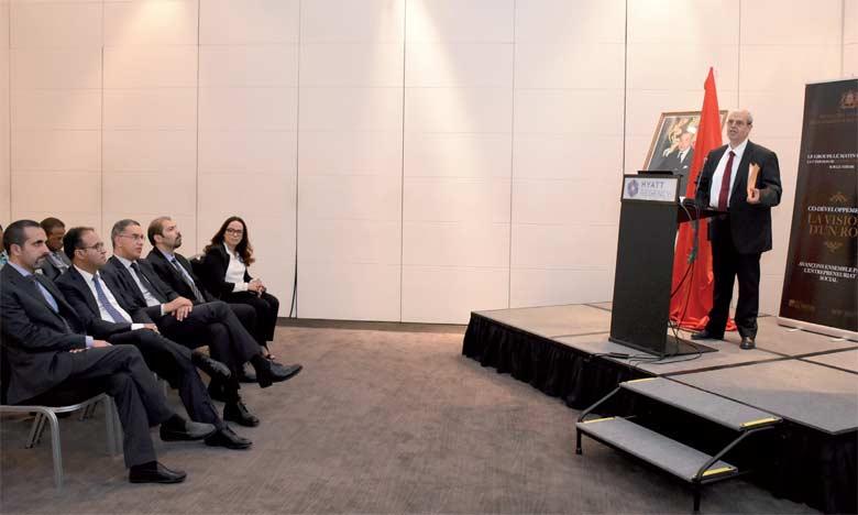 M. Haitami a affirmé que trois panels seront organisés après la séance inaugurale. Ph. Saouri