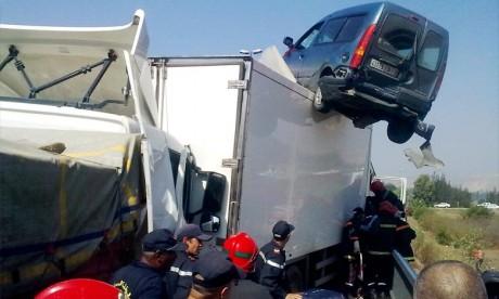 1.330 accidents de la route, 26 personnes tuées en 7 jours