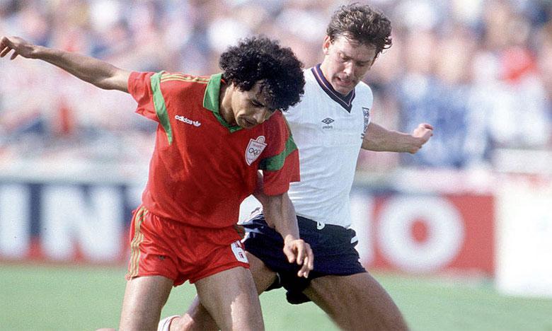 Abdelmajid Dolmy a fait vivre des misères au milieu du terrain anglais, lors du Mondial Mexico 1986.