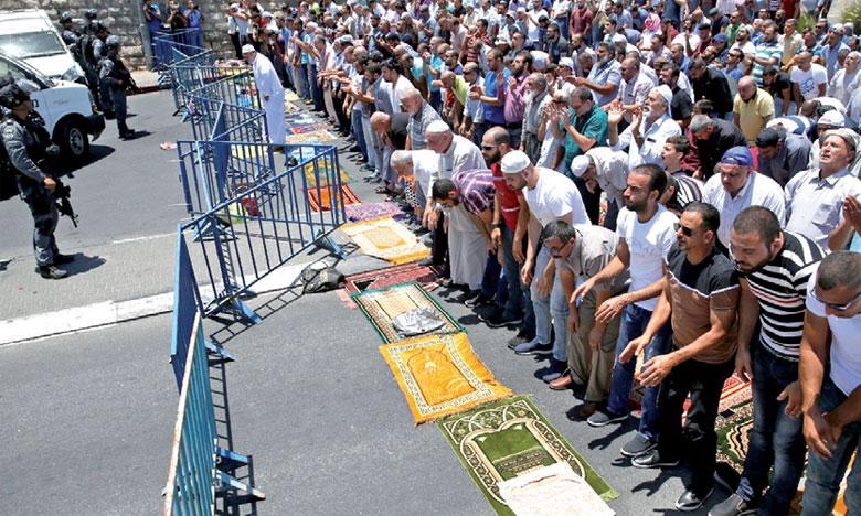 Les Palestiniens décident la fin du boycott de l'esplanade des Mosquées