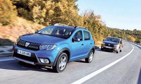 Dacia atteint la barre  des 300.000 clients