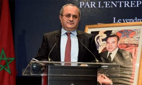 Brahim Benjelloun Touimi, administrateur  directeur général exécutif du Groupe BMCE Bank  Of Africa, Maroc