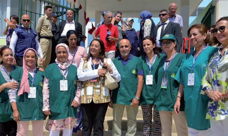 Dans le volet social du festival, l'opération «Santé pour tous» a été programmée au profit de personnes en situation précaire  à Tétouan.