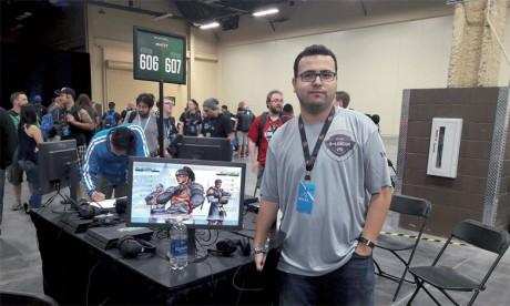 Inwi partenaire de Khalid Naili à  la compétition internationale de Las Vegas