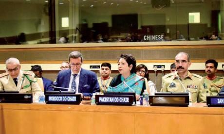 Le Maroc et le Pakistan lancent le Groupe des pays contributeurs en troupes et en police aux Nations unies